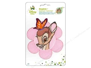 Baby Irons: Simplicity Disney Baby Iron On Bambi With Butterfly