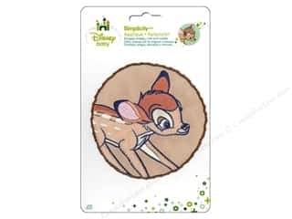 Simplicity Disney Baby Iron On Bambi In Circle