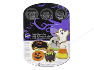 Wilton Pan Cookie Halloween 12 Cav NStick