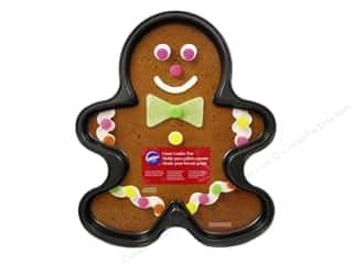 Baking SheetS / Baking Pans: Wilton Pan Giant Gingerbread Boy NStick