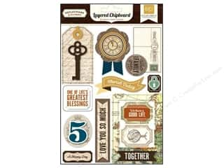 Echo Park Paper Company Chipboard: Echo Park Chipboard Reflections Layered