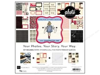 card sleeve: Echo Park 12 x 12 in. Jenni Bowlin Collection Kit