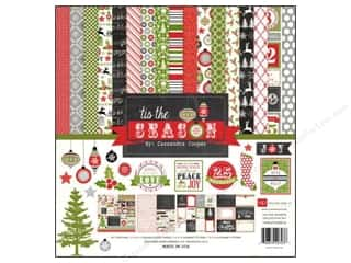 Clearance Echo Park Collection Kit: Echo Park Collection Kit 12x12 Tis The Season