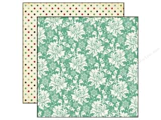 Papers Echo Park 12 x 12 in. Paper: Echo Park 12 x 12 in. Paper Reflections Christmas Collection Christmas Floral (25 pieces)