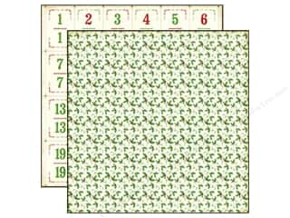 Christmas ABC & 123: Echo Park 12 x 12 in. Paper Reflections Christmas Collection Holly Berry (25 pieces)