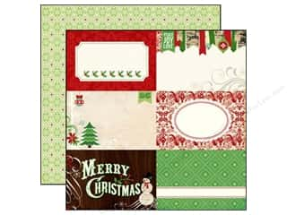 Joy Brown: Echo Park 12 x 12 in. Paper Reflections Christmas Collection Peace Joy Love (25 pieces)