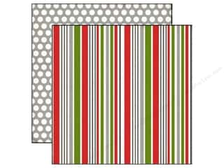 Echo Park 12 x 12 in. Paper Holiday Stripe (25 piece)