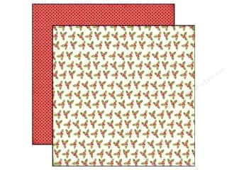 Echo Park 12 x 12 in. Paper Holiday Holly (25 piece)