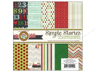 Simple Stories Paper Pad December Documented 6x6