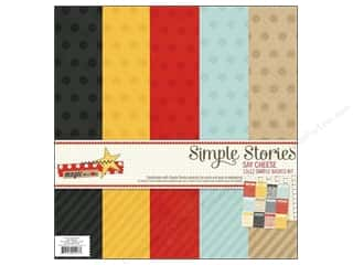 Simple Stories Kit Say Cheese Basics 12x12