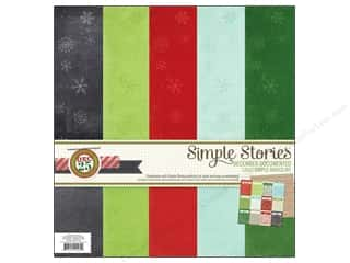Simple Stories Kit December Doc Basics 12x12