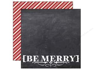 Simple Stories Paper 12x12 December Doc Be Merry (25 piece)