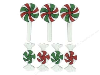 Jesse James Buttons Back To School: Jesse James Dress It Up Embellishments Christmas Candy