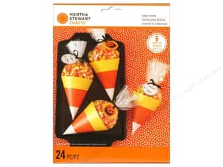 Baking Wraps / Cupcake Wrappers: Martha Stewart Treat Bags Animal Msqurd Candy Corn