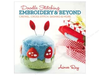 needlework book: Lark Doodle Stitching Embroidery & Beyond Book by Aimee Ray