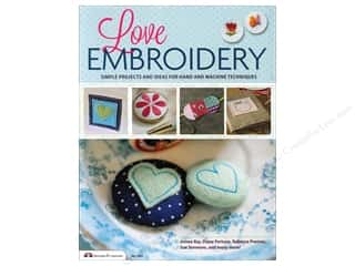 Design Originals $8 - $9: Design Originals Love Embroidery Book