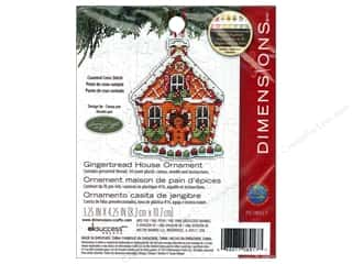 even weave: Dimensions Cross Stitch Kit SW Ornament Gingerbred