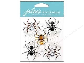 Jolee's Boutique Stickers Beaded Spiders