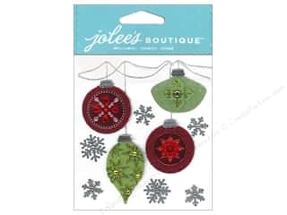 Jolee's Boutique Stickers Holiday Ornaments