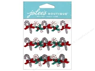 Jolee's Boutique Stickers Candy Cane Mini Repeats