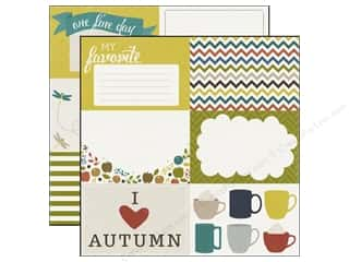 Fall / Thanksgiving Echo Park 12 x 12 in. Paper: Echo Park 12 x 12 in. Paper Oh So Thankful Collection My Favorite (15 pieces)