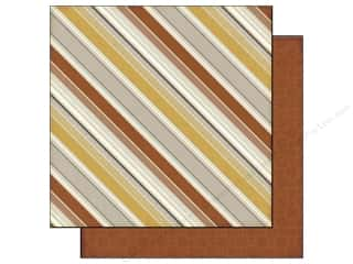 Echo Park 12 x 12 in. Paper Autumn Stripes (25 piece)