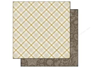 Fall / Thanksgiving Clearance: Echo Park 12 x 12 in. Paper Reflections Fall Collection Harvest Plaid (25 pieces)