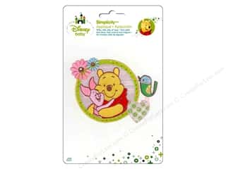 Hearts Licensed Products: Simplicity Disney Baby Iron On Pooh And Piglet