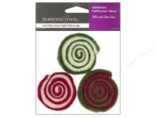 Dimensions 100% Wool Felt Embl Candy Swirls