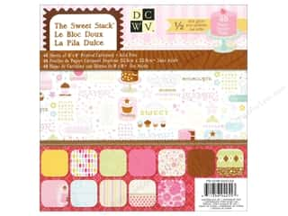 Die Cuts 8 x 8 in. Paper Stack Sweet