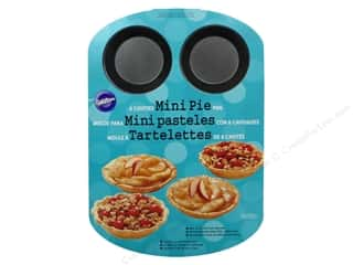 Baking Pans / Baking Sheets: Wilton Bakeware Pan Mini Pie 6 Cavity Non Stick