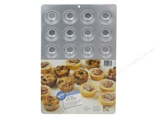 Cooking/Kitchen Wilton Bakeware: Wilton Bakeware Pan Muffin 24 Cup Aluminum