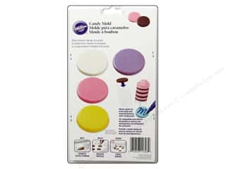 Plastics Cooking/Kitchen: Wilton Molds Candy Circle Plaque 8 Cavity