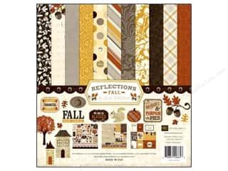 Clearance Echo Park Collection Kit: Echo Park Collection Kit 12x12 Reflections Fall