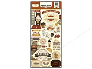 fall sale graphic 45: Echo Park Chipboard Reflections Fall Accent