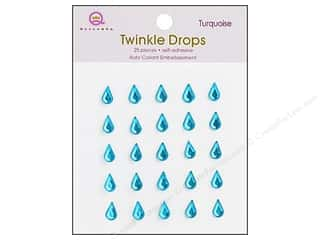 Queen : Queen&Co Sticker Twinkle Drops Turquoise
