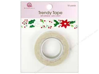 Queen&Co Trendy Tape 10yd Holiday Flowers