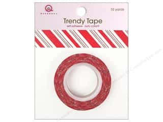 Queen&Co Trendy Tape 10yd Holiday Stripe