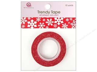 Queen&Co Trendy Tape 10yd Holiday Snowflakes