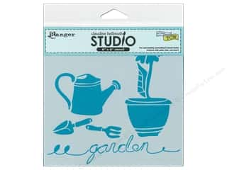Gardening & Patio Scrapbooking & Paper Crafts: Ranger Stencil Claudine Hellmuth In The Garden