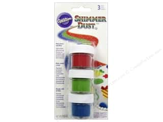 gumpaste: Wilton Shimmer Dust Set Primary