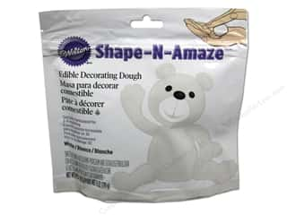 Edibles / Foods: Wilton Edible Decorations Shape N Amaze Decorating Dough 6oz White