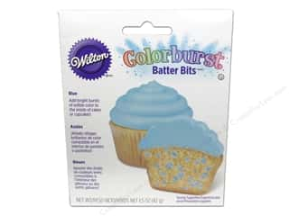 Wilton Blue: Wilton Edible Decorations Batter Bits Colorburst Blue 1.5oz