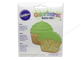 Wilton Edible Decorations Batter Bits Colorburst Green 1.5oz