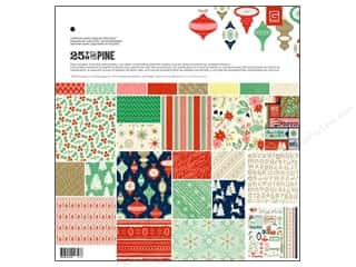 Weekly Specials Paper Packs: BasicGrey Collection Pack 12 x 12 in. 25th & Pine