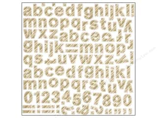 BasicGrey BasicGrey Stickers: BasicGrey Alphabet Stickers 25th & Pine