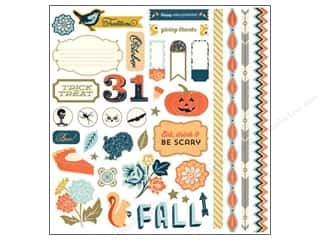 Theme Stickers / Collection Stickers: BasicGrey Element Stickers Persimmon