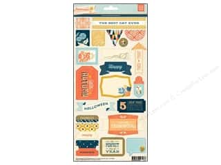 Theme Stickers / Collection Stickers: BasicGrey Title Stickers Persimmon