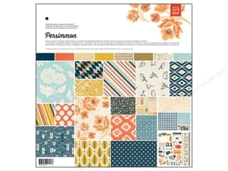 Theme Stickers / Collection Stickers: BasicGrey Collection Pack 12 x 12 in. Persimmon