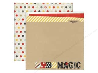 Simple Stories Paper 12x12 Say Cheese Magic (25 piece)